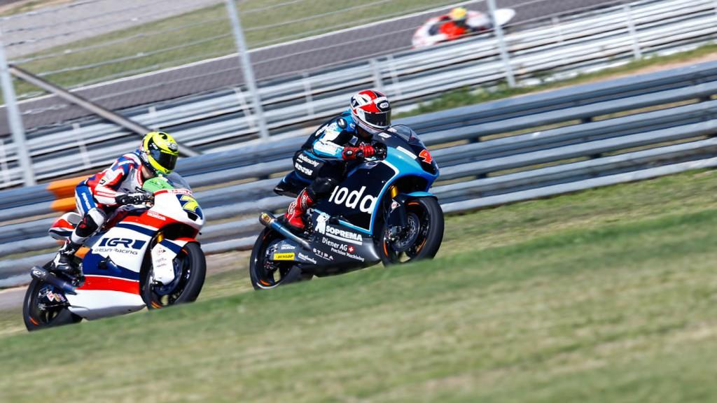 Lorenzo Baldassarri, Randy Krummenacher, IodaRacing Project, Gresini Moto2, ARG RACE