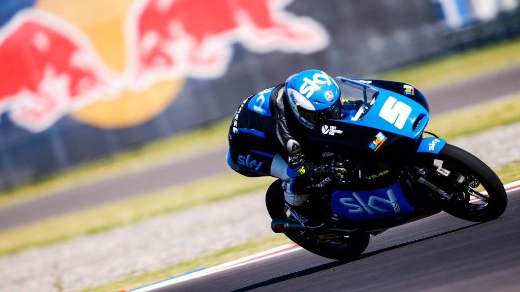 Romano Fenati, SKY Racing Team  VR46, ARG RACE