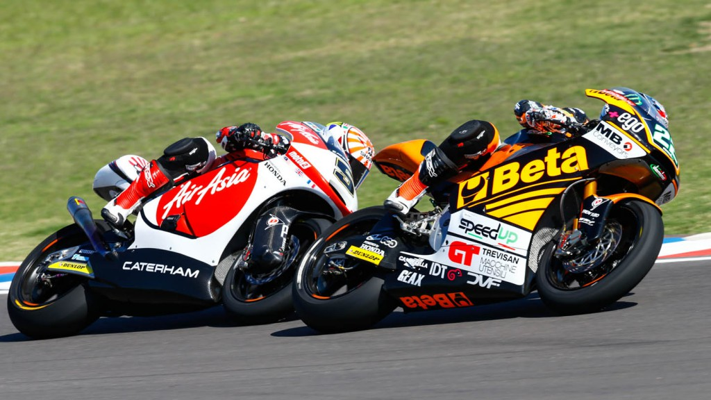 Sam Lowes, Johann Zarco, AirAsia Caterham Moto Racing, Speed Up, ARG RACE