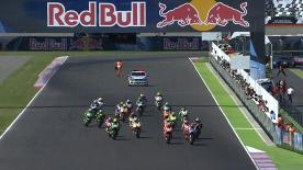 An enthralling MotoGP™ race at the Gran Premio Red Bull de la Republica Argentina saw Marc Marquez clinch his third win of the year, ahead of Dani Pedrosa and Jorge Lorenzo in the top three.