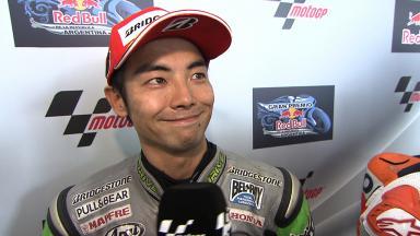 Argentina 2014 - MotoGP - RACE - Interview - Hiroshi Aoyama