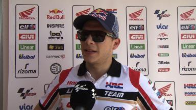 Argentina 2014 - MotoGP - RACE - Interview - Stefan Bradl