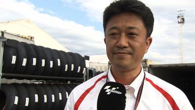 Argentina 2014 - MotoGP - RACE - Interview - Shinji Aoki