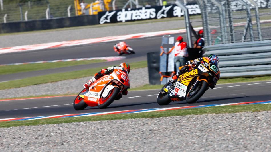motogp.com · Sam Lowes, Jordi Torres, Mapfre Aspar Team Moto2, Speed Up, ARG RACE