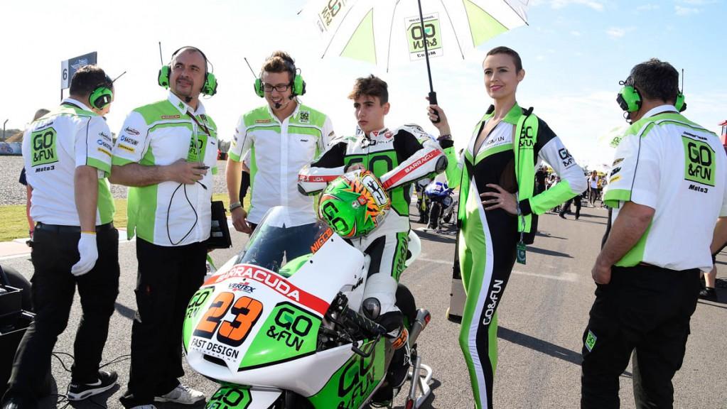 Niccolò Antonelli, Junior Team GO&FUN Moto3, ARG RACE