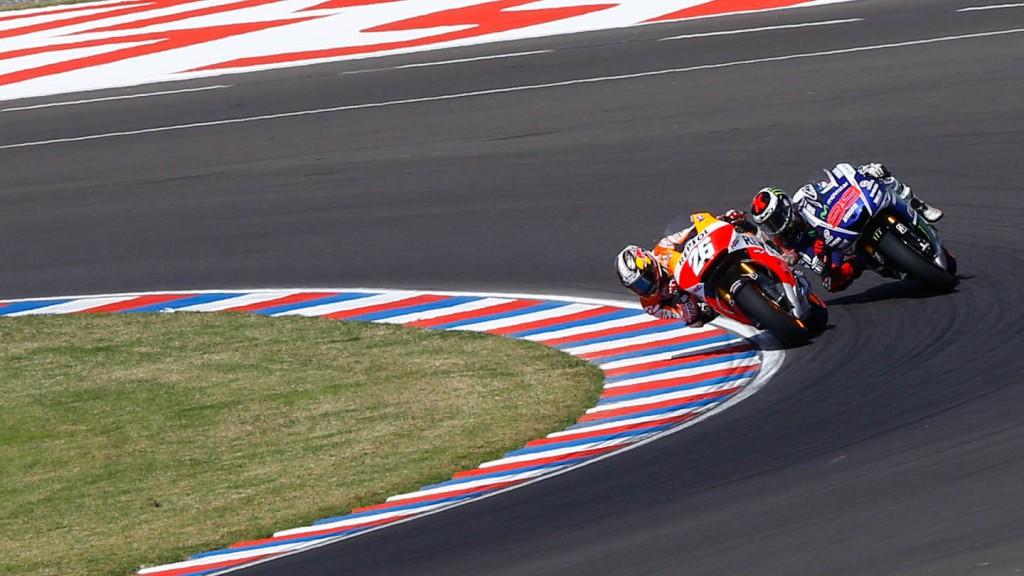 Jorge Lorenzo, Dani Pedrosa, Movistar Yamaha MotoGP, Repsol Honda Team, ARG RACE