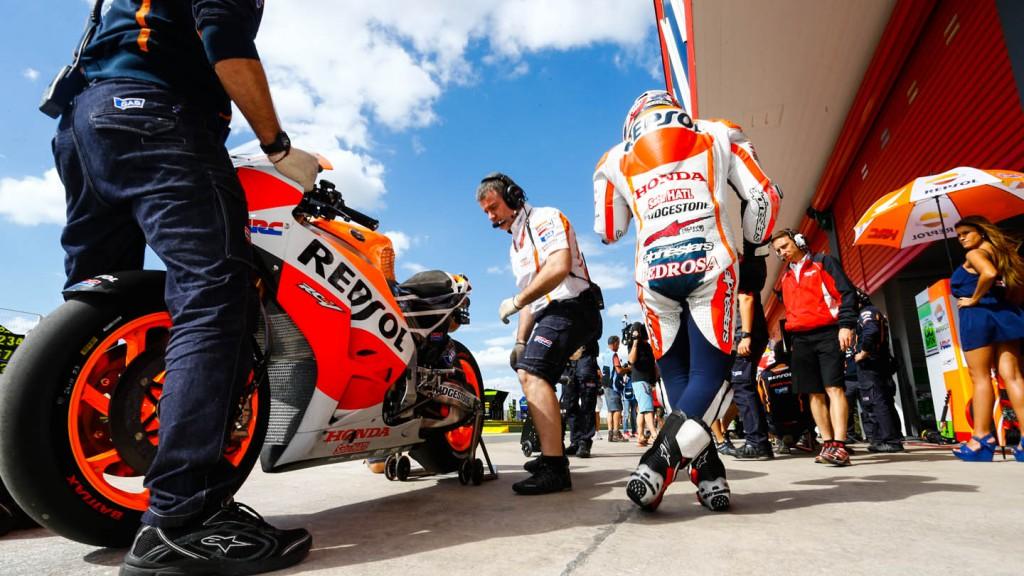 Dani Pedrosa, Repsol Honda Team, ARG WUP