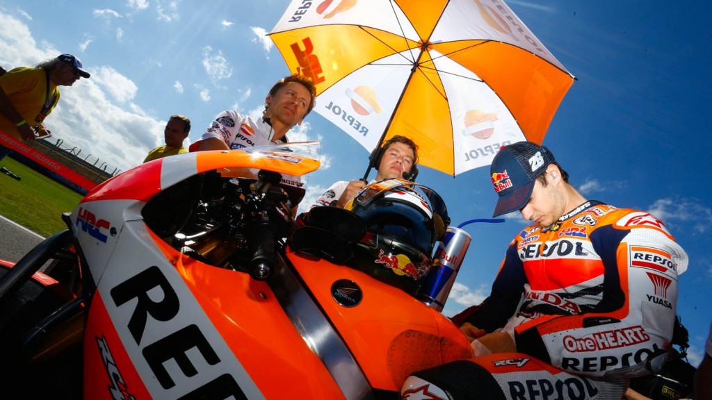 Dani Pedrosa, Repsol Honda Team, ARG RACE