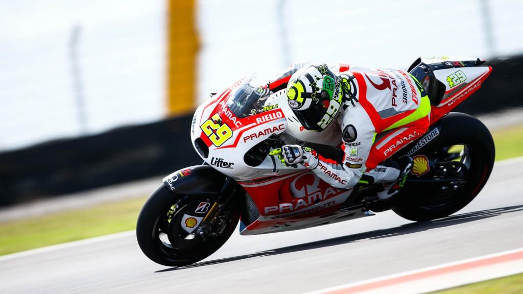 Andrea Iannone, Pramac Racing, ARG RACE