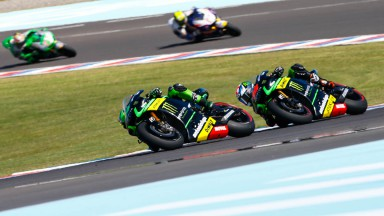 Pol Espargaro, Bradley Smith, Monster Yamaha Tech 3, ARG RACE