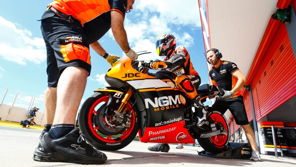Aleix Espargaro, NGM Forward Racing, ARG WUP