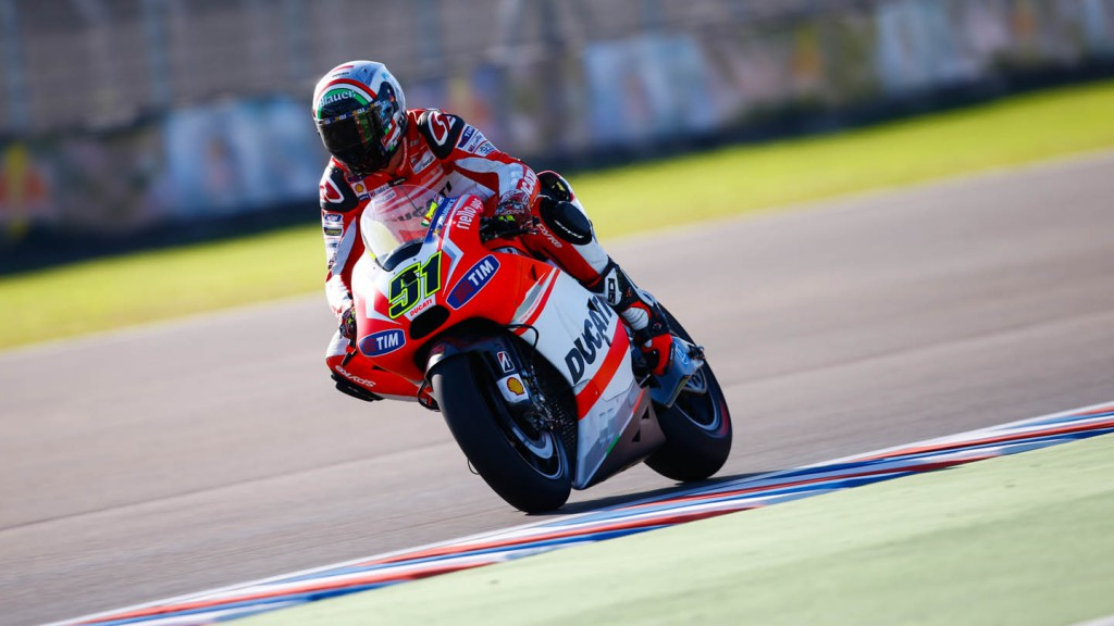 Michele Pirro, Ducati Team, ARG WUP