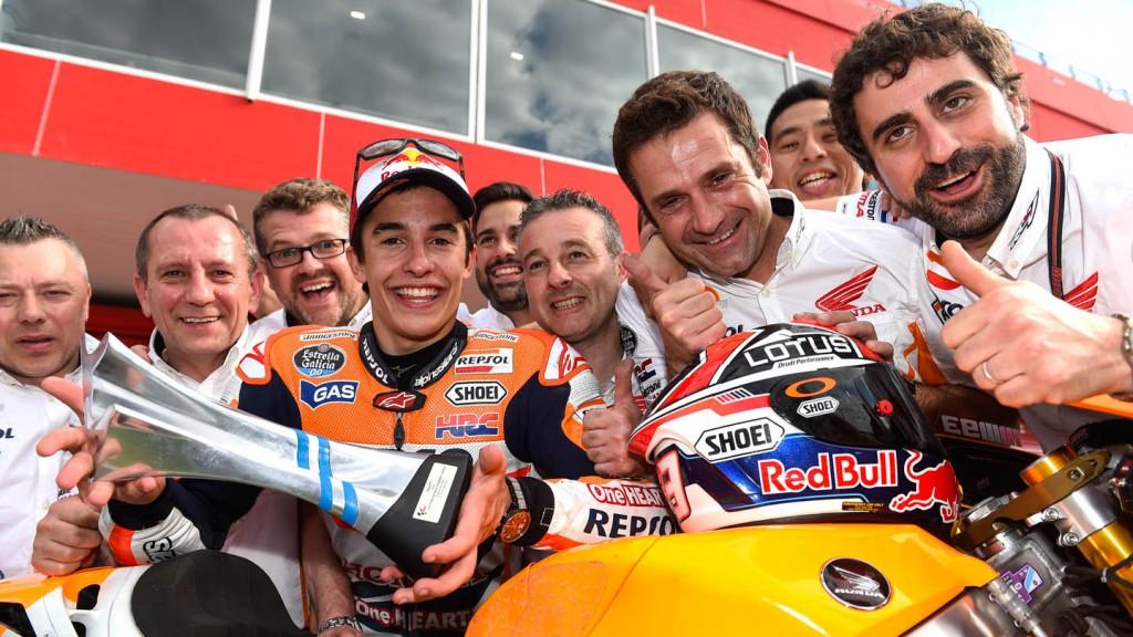 Marc Marquez, Repsol Honda Team, ARG RACE © Copyright Milagro