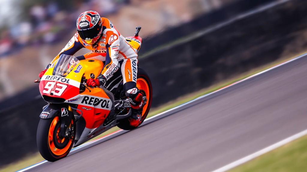 Marc Marquez, Repsol Honda Team, ARG WUP