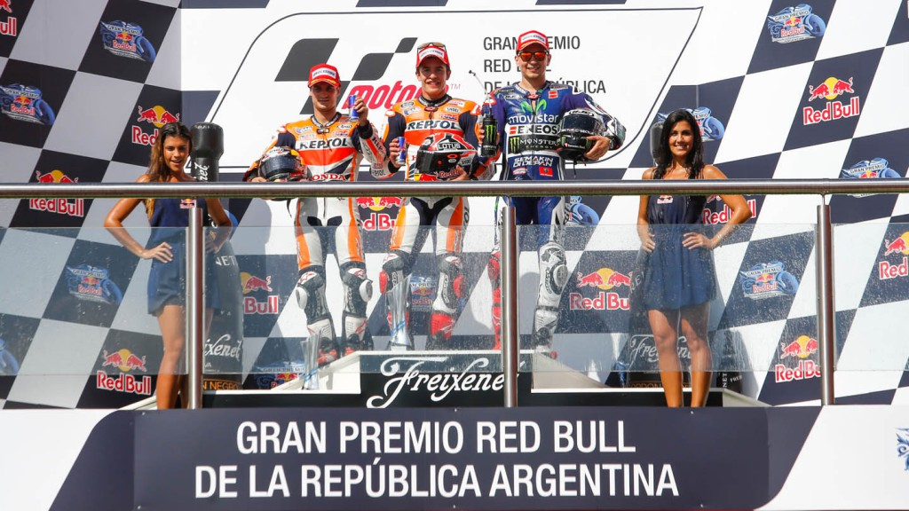 MotoGP Podium, ARG, RACE