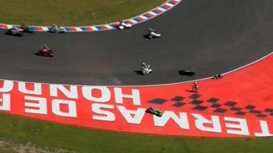 Argentina 2014 - MotoGP - RACE - Action - Alvaro Bautista - Danilo Petrucci - Crash