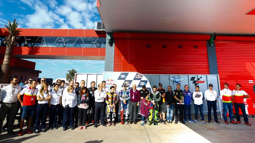 MotoGP tribute Tito Vilanova