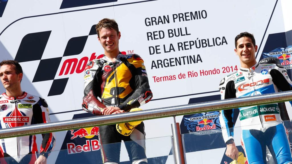 Moto2 Podium, ARG, RACE