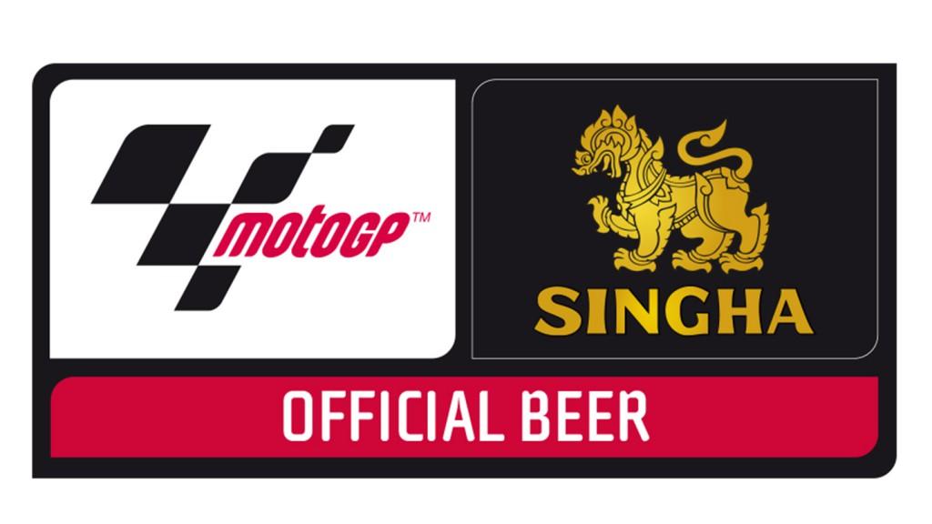 Singha official beer MotoGP
