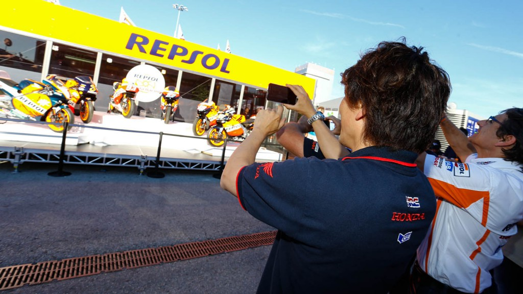 Repsol celebrate 20 years in MotoGP™