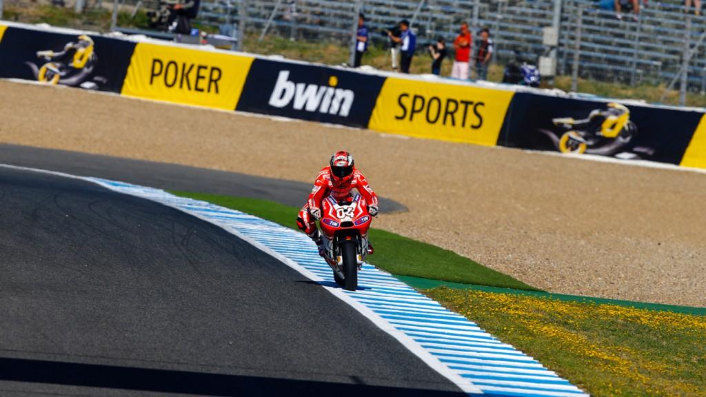 Andrea Dovizioso, Ducati Team, SPA FP2
