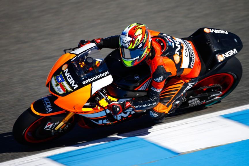 Colin Edwards, NGM Forward Racing, SPA FP2