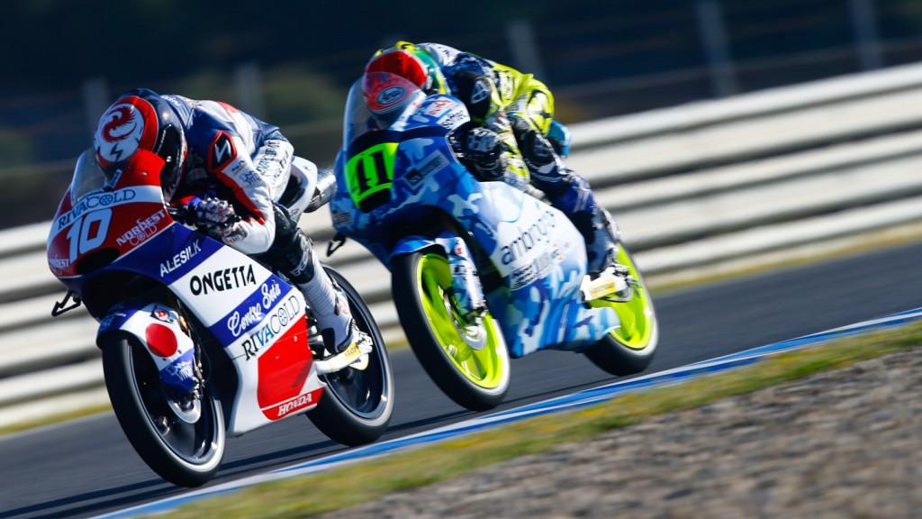 Brad Binder, Alexis Masbou, Ambrogio Racing, Ongetta-Rivacold, SPA FP2