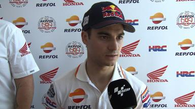 Pedrosa on general lack of Friday grip