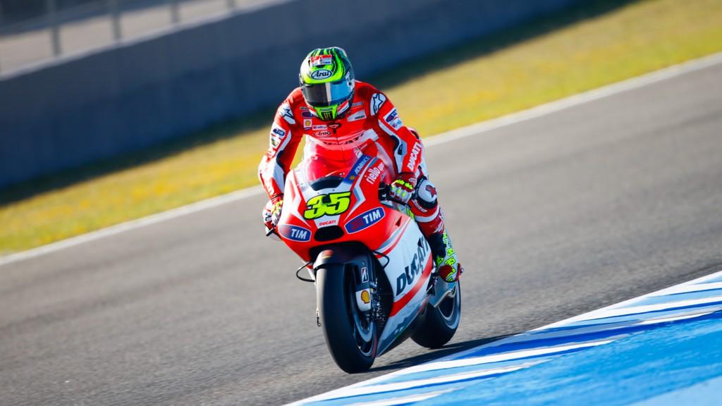 Cal Crutchlow, Ducati Team, SPA FP2