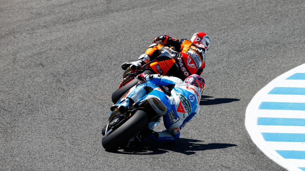 Mattia Pasini, Luis Salom, NGM Forward Racing, Pons HP 40, SPA FP2