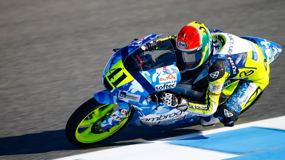 motogp.com · Brad Binder, Ambrogio Racing, SPA FP2