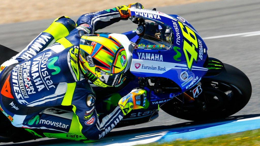 Valentino Rossi, Movistar Yamaha MotoGP, SPA FP2