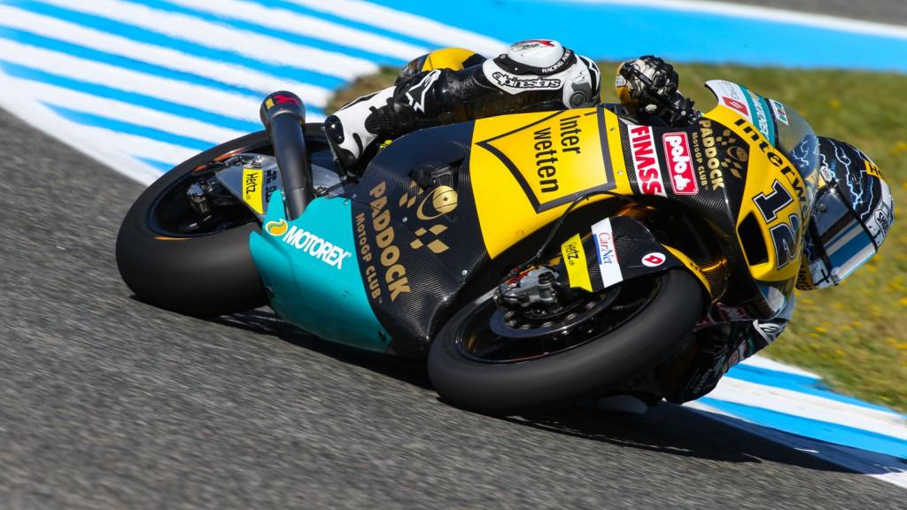 Thomas Luthi, Interwetten Paddock Moto2, SPA FP2