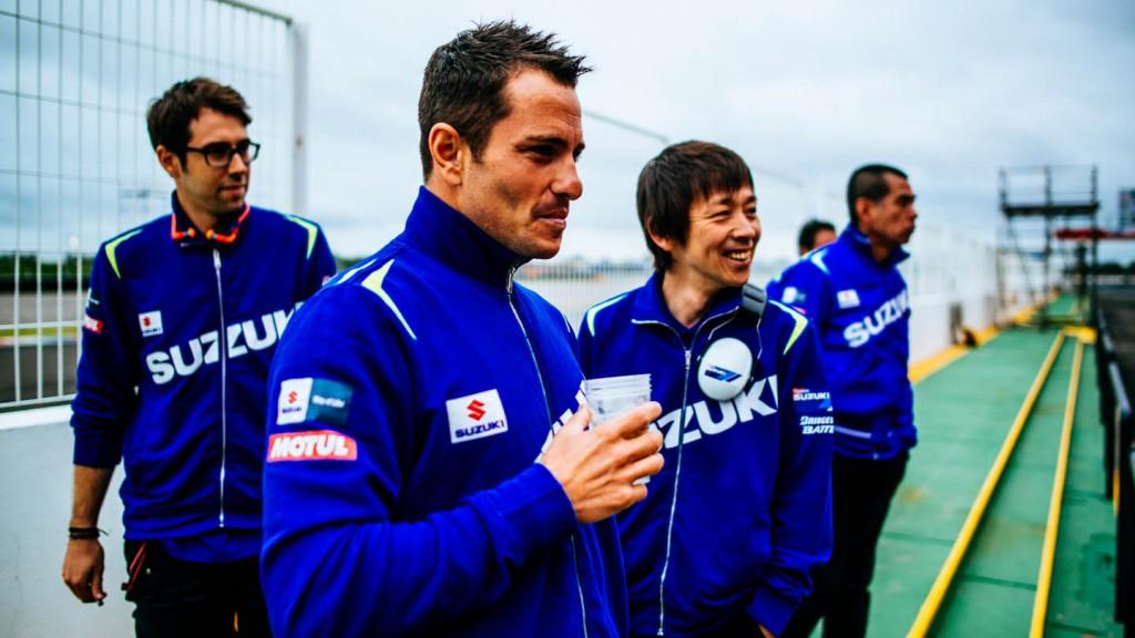 Randy De Puniet, Suzuki MotoGP Test Team, Argentina Test