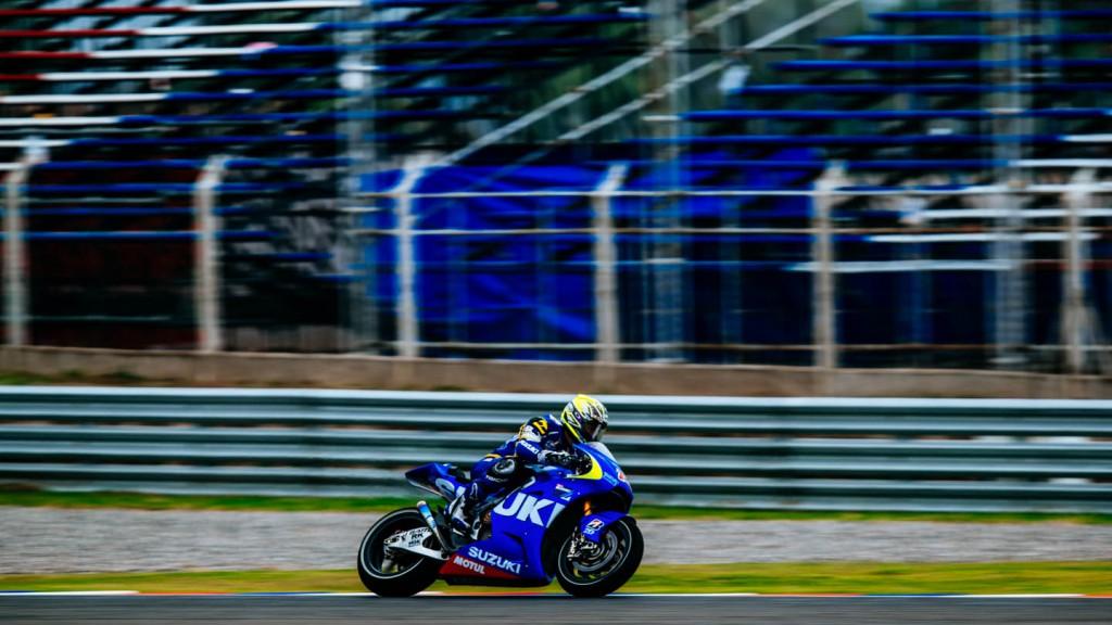 Nobuatsu Aoki, Suzuki MotoGP Test Team, Argentina Test