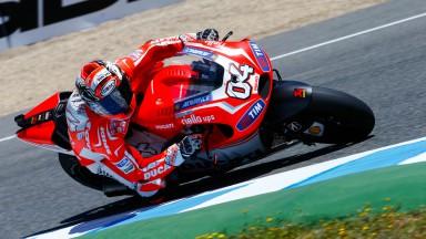 Andrea Dovizioso, Ducati Team, SPA Q2