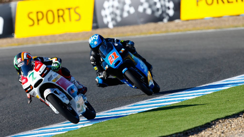 Francesco Bagnaia, Efren Vazquez, SKY Racing Team  VR46, SaxoPrint-RTG, SPA QP