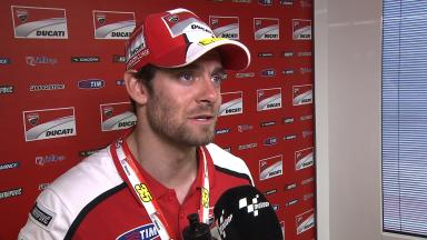 It is getting more difficult with hand - Crutchlow