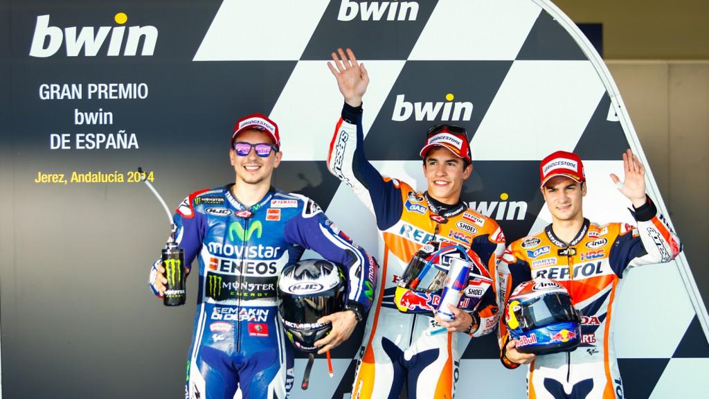 Jorge Lorenzo, Marc Marquez, Dani Pedrosa, Movistar Yamaha MotoGP, Repsol Honda Team, SPA Q2