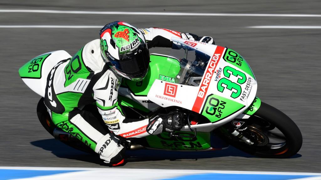 Enea Bastianini, Junior Team GO&FUN Moto3, SPA QP
