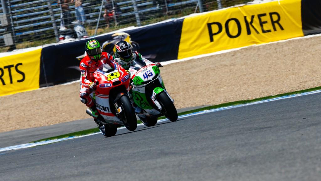 Cal Crutchlow, Scott Redding, Ducati Team, GO&FUN Honda Gresini, SPA Q1