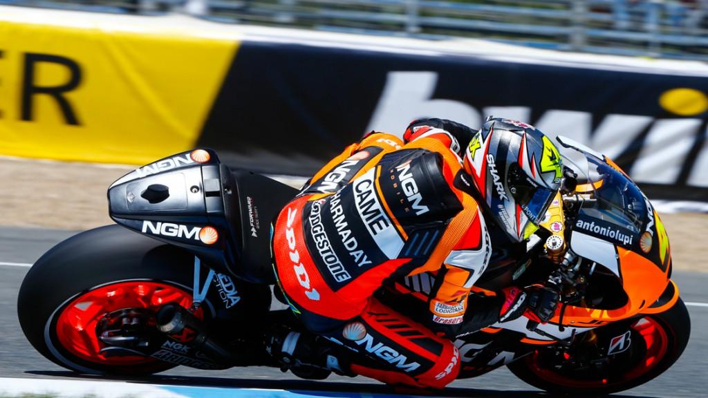Aleix Espargaro, NGM Forward Racing, SPA Q2