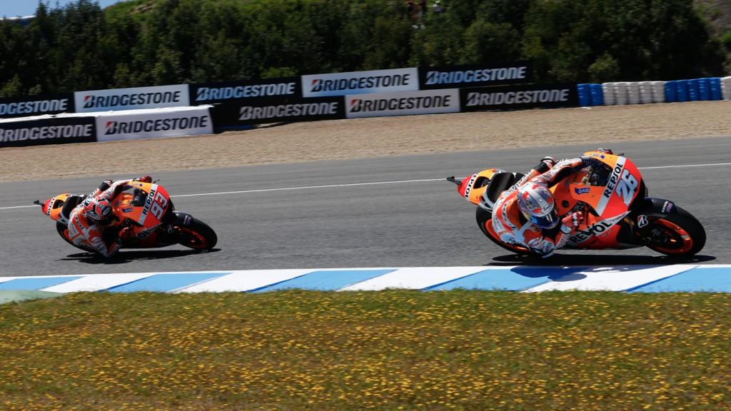 Marc Marquez, Dani Pedrosa, Repsol Honda Team, SPA, FP4