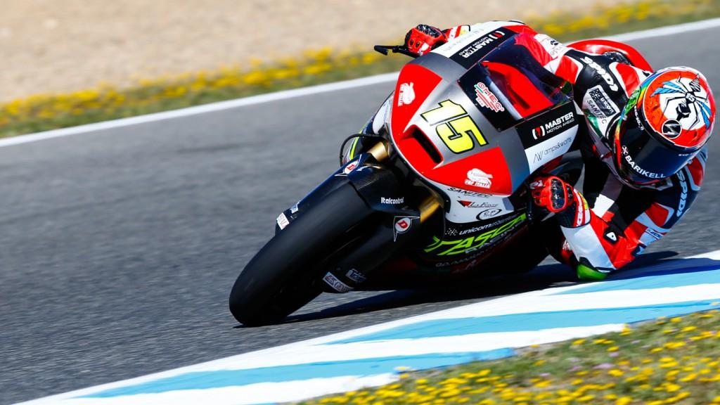 Alex De Angelis, Tasca Racing Moto2, SPA QP