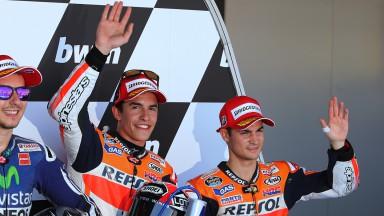 Marc Marquez, Dani Pedrosa, Repsol Honda Team, SPA Q2