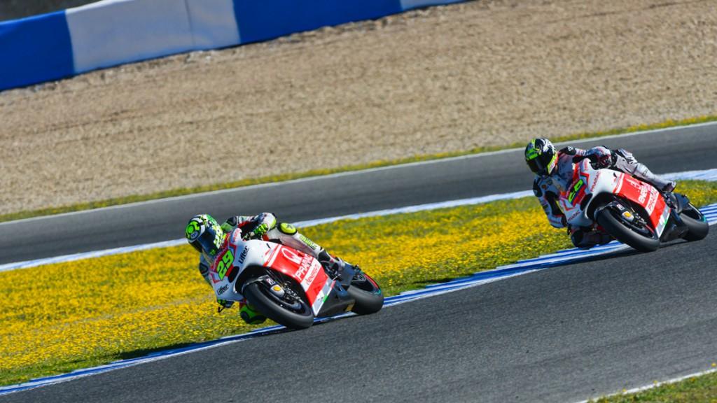Yonny Hernandez, Andrea Iannone, Pramac Racing, SPA Q1