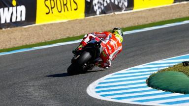 Cal Crutchlow, Ducati Team, SPA Q1