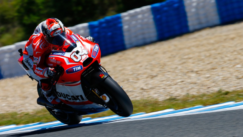 Andrea Dovizioso, Ducati Team, SPA RACE