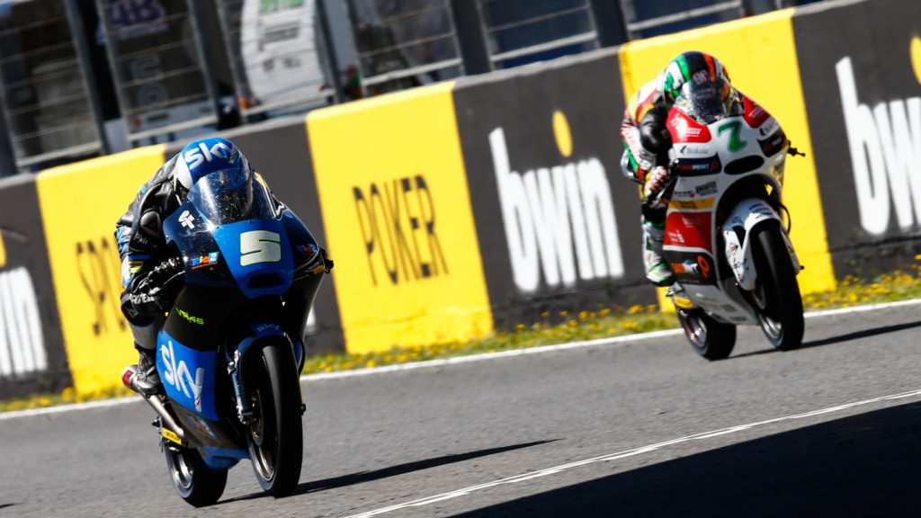 Romano Fenati, Efren Vazquez, SKY Racing Team VR46,  SaxoPrint-RTG, SPA RACE