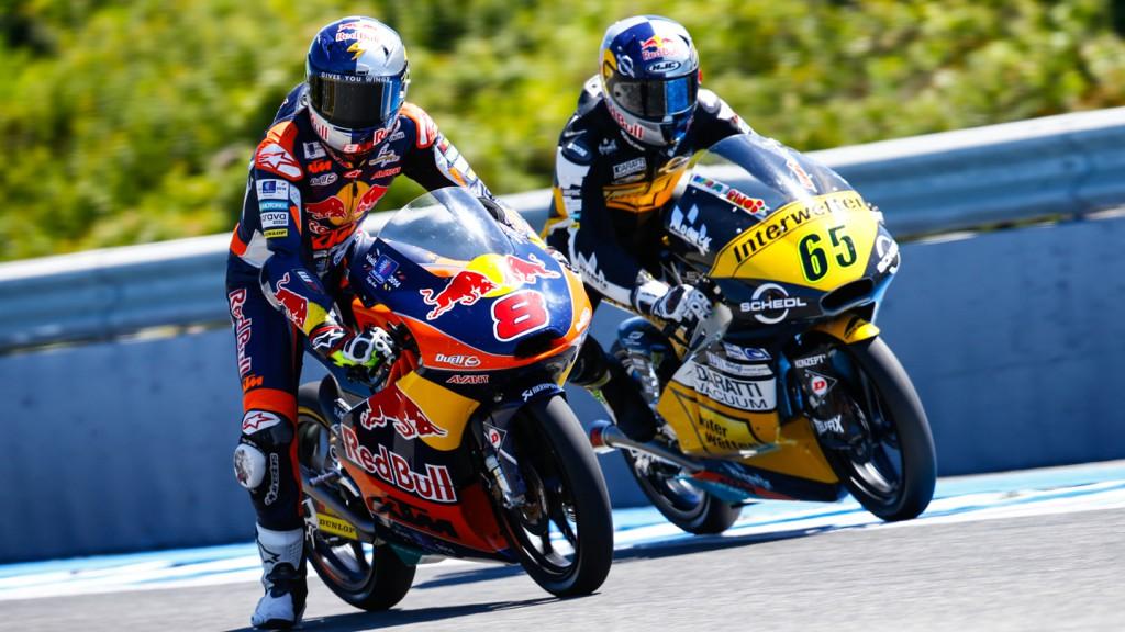 Jack Miller, Philipp Oettl, Red Bull KTM Ajo, Interwetten Paddock Moto3, SPA WUP